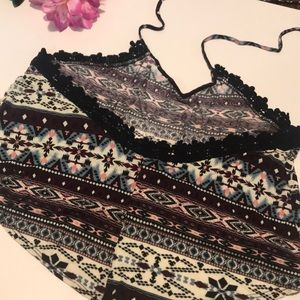 Wet Seal Tops - Crop Top with embroidery